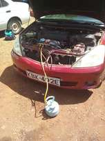 Mobile car aircon gas refill and repairs