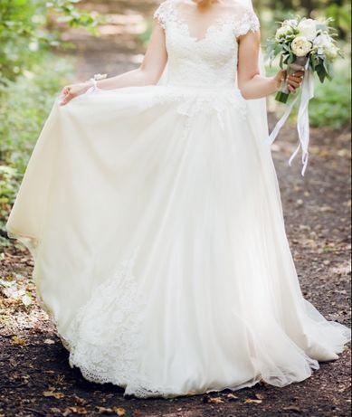 Весільне плаття  6 500 грн. - Весільні сукні Луцьк на Olx 3eea302b609d8
