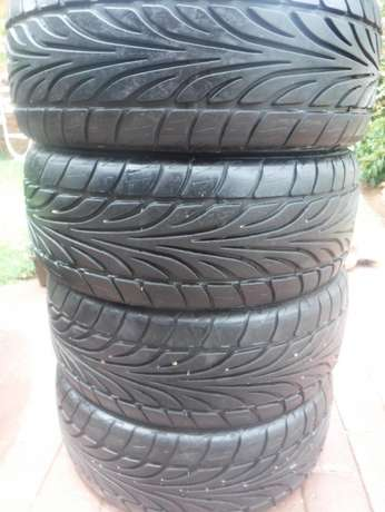 4xDunlop SP Sport tyres,Almost as new!!205/45/16 Pretoria - image 1
