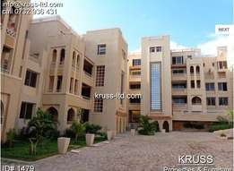 3br executive newly built apartment to let in Nyali