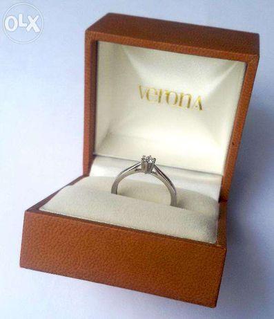 Nowy śliczny Złoty Pierścionek Zaręczynowy Verona żywiec Olxpl
