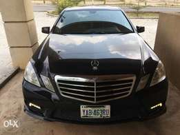 E350 4matic (fairly used, in excellent condition)
