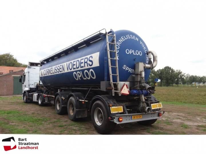 Mest-veevoeder-gülle oplegger 34.500 liter - 1989