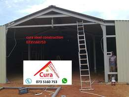 Big Steel Structure roofs, Carports, Storerooms, Workshops All