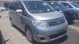 Silver Nissan Serena available for sale