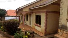 Self contained house in Gayaza