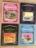 4 great Fairytale Classics Large Hardback Books with 35 Stories!