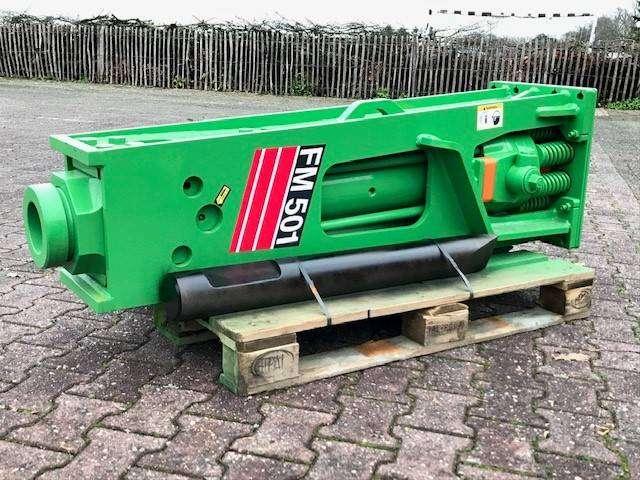 FM501 | 1000KG | 12 ~ 20 Ton | Hammer | Sloophamer - 2018