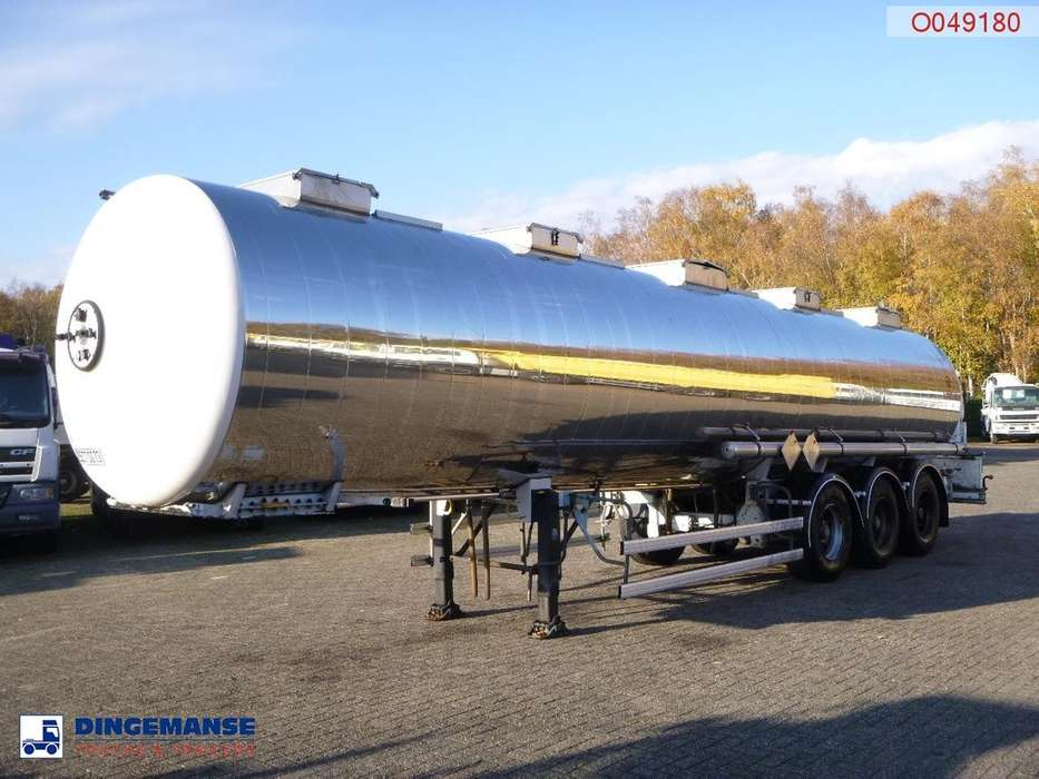 Magyar Chemical tank inox 33 m3 / 1 comp - 1994
