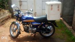 Hero Dawn 100cc motorcycle