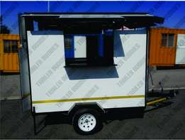 Start your own mobile food Business with our 2,4meter Food trailer.
