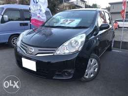 Nissan Note with leather seats