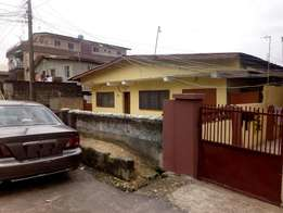 Bungalow on Full Plot of Land For Sale at Off Pedro Road Shomolu