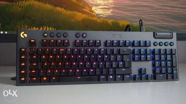 Logitech G815 Keyboard (Clicky Or Linear Available)