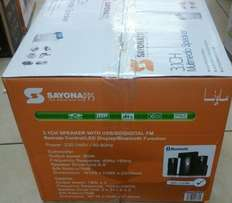 Brand new sayona 3.1multimedia speaker with Bluetooth available now