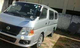 Nissan caravan 2009 and 2010 manual and auto available on sale