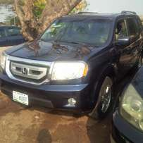 Nigerian Used Honda Pilot. 2009. Very Okay Full Option.