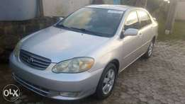 First come first buy this morn Toks corolla 04 at giveaway price