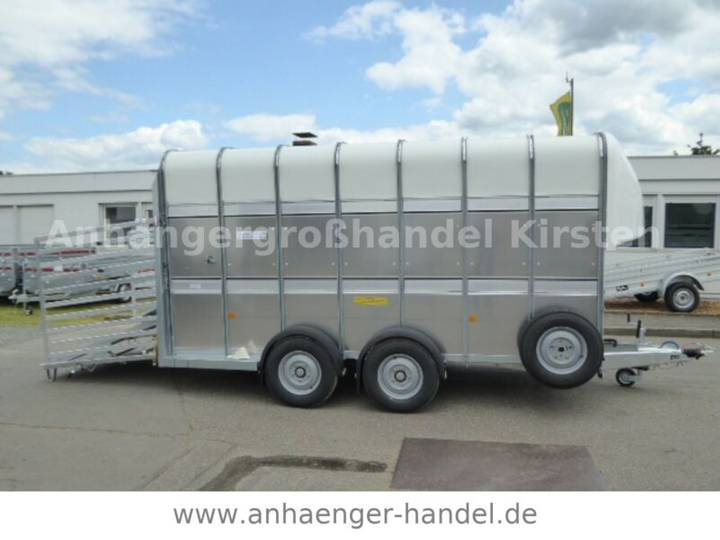 Ifor Williams TA510 DOPPELDECK 427x178x214cm VORRAT - 2019
