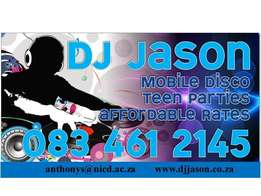 Mobile disco DJ