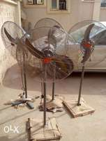 Few month used big ox standing fan at give away prize