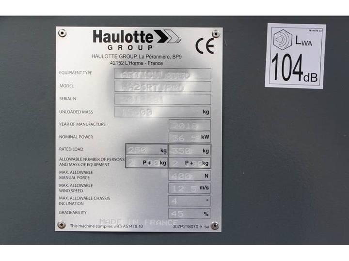 Haulotte HA26RTJPRO - 2018