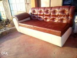 looking for leather made sofa... you got it