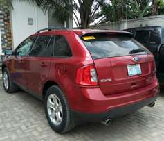Red 2013 Ford Edge - full option