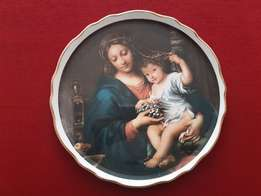 """JAMES KENT"" Plate ~ The Virgin of the Grapes"