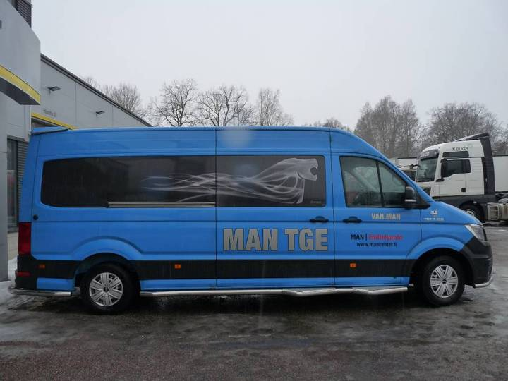 MAN Tge 3.180 2,0 Tdi 130kw 4490 Fwd Autom. Retkeilyau - 2018