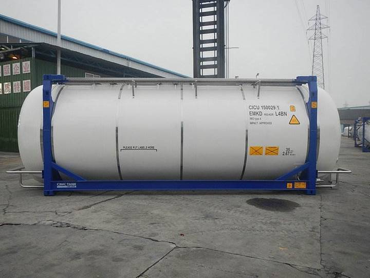 CIMC Tankcontainer - 2018