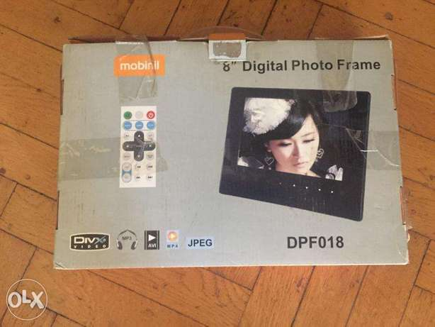 Digital Photo Frame (DPF018) with remote