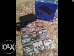 slimline 500gb ps3 with 10games