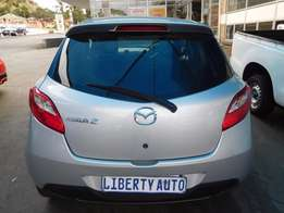 2011 Mazda 2 Dynamic 1.3 Hatch Back 80,221km Manual Gear, Cloth Uphols