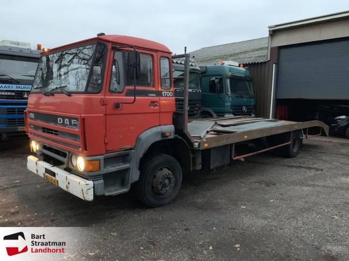 DAF 1700 Turbo Cartransporter Machinetransporter - 1987