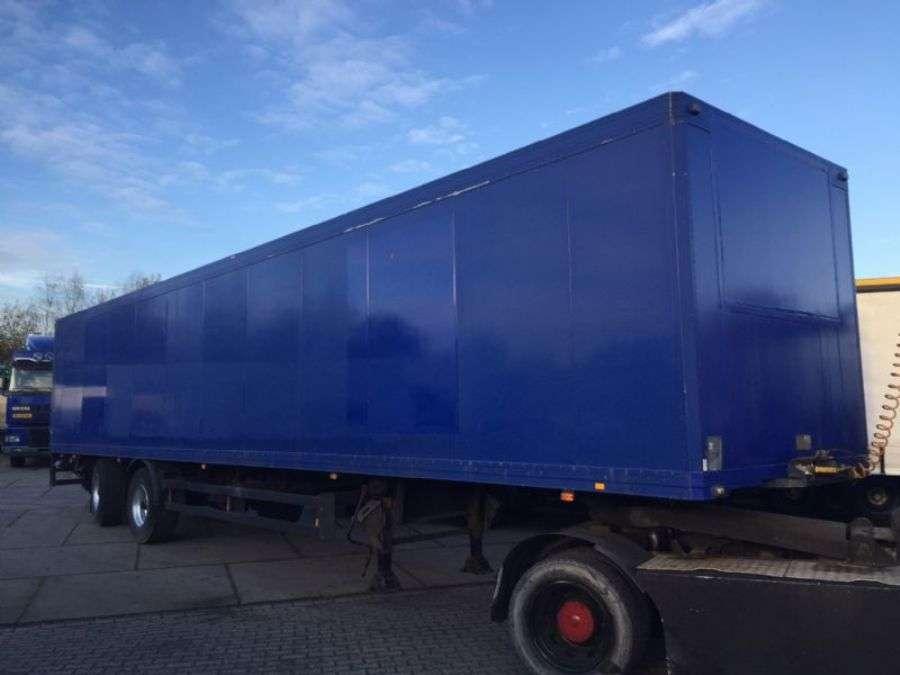 Schmitz Cargobull 2 Assen Tridec Gestuurd Volledig Chassis Laadklep Alluminium Vloer - 1998