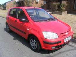 2004 Hyundai Getz 1.4. FSH. No rust, minor scratches and dents.