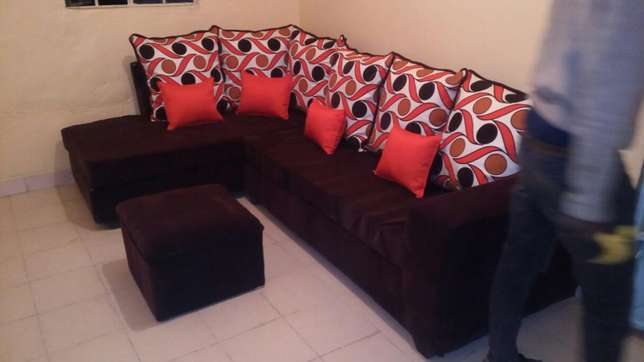 Sofa L seat six seater at a reasonable price Nakuru East - image 2