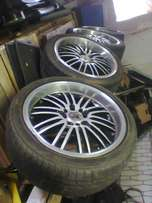 """17"""" mags with tyres"""