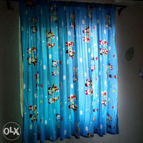 Baby curtain and bed spread Kubwa - image 1