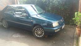 One owner, VW 1.8i Jetta 3 Manual