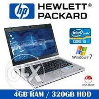 protable hp 2560 core i5 laptop...19k only
