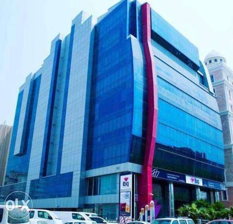 small office in IBQ bank building