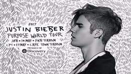 Justin Bieber Front Zone Standing/ GC tickets for R1 950.00 each (JHB)