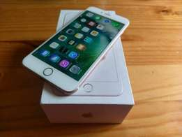 New iPhone 6s plus gold 64gig open to all networks including box