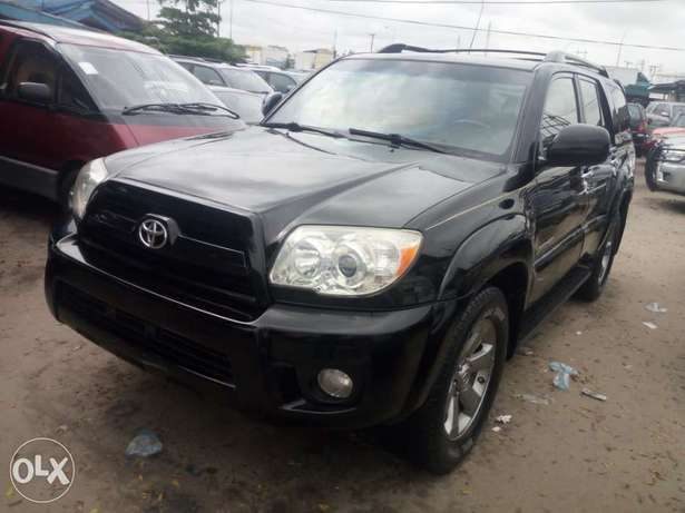 2008 Toyota 4runner black. Limited edition. Direct tokunbo Apapa - image 1