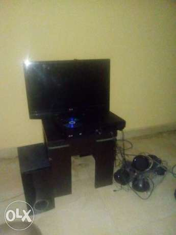 LG 24inch TV and Home theatre Eti Osa - image 1