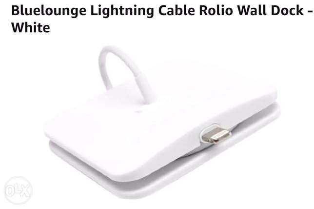 blue lounge lighting cable