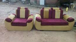 stain five seater sofa set