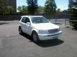 Mercedes Benz ML 350 A/T 2003; Give away price!!